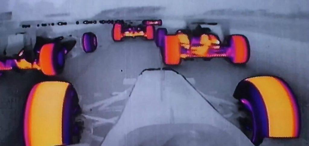 Vision thermique course F1